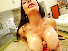 Diamond Foxxx Disfrutando Fucking Por Boobs