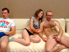 Threesome With My 2 Brothers - Watch Part2 on CUMCAM,COM