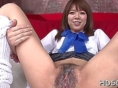 Lustful Japanese Lady Miyu Aoi on noin cum