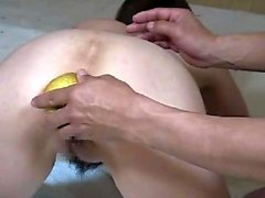 Gapande assed fetisch slampa anal speculum