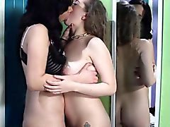 Lesbian Jelena Jensen seduced by Jessi Jun