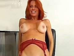 Cougar #40 (POV) The Redhead in Red