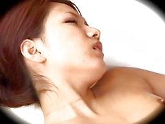 Asian Girl Fingered And Fucked By The Masseur Cum To Belly On The Mattress
