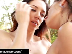 Penthouse Pet Jelena Jensen & Sensual Jane Do Lesbian Love!