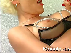 German golden-haired know to fuck