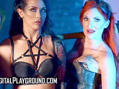 Digital Playground - big-titted Madison Ivy & punk Katrina Jade Sissor in porno p