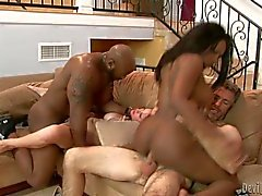 Blistering Ashli Ames rides this dick up her wet snatch