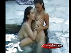 Aria Giovanni and Adriana Sage Swiming Pool