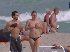 Hot Naked Girls on South Florida Beaches Part 2