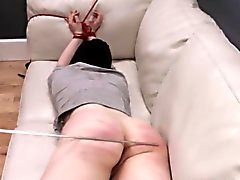 diabolically hardcore BDSM rope sex with anal action