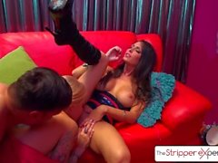 TheStripperExperience Jessica Jaymes & Helly Hellfire fucking a big dick