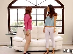 Gorgeous Latina Vanessa got naughty therapy from Penny Pax