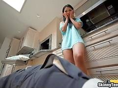 asian teen girl cindy starfall drilled by big hard dick