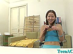 naughty russian lisa cums hard
