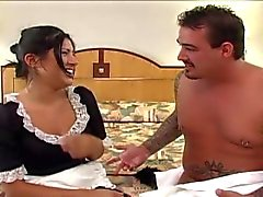 Sativa Rose as a Maid Getting Fucked Hard