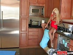 Stepmom Nikita man up BF of spoiled brat
