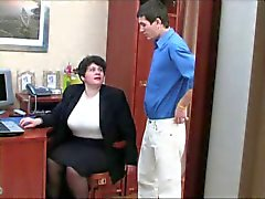 A Brunette Shorthair-BBW-Milf fucked by young Guy 2