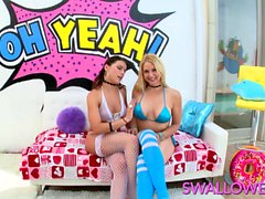 Dreams can come true! Adriana Chechik and Sarah Vandella