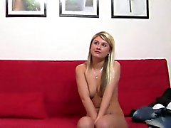 Arousing audition with hot sweetheart
