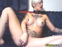 Tattoo Babe Massive Dildo Collection HD