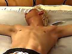 Blondes Homosexuell Twinks Galerie erstenmal Tickle Evan