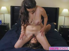 Jelena Jensen and Kimmy Granger enjoy licking wet pussy