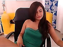 Webcam girl toying et obtenir cum en privé