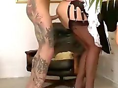 Nasty mature amateur gets fucked