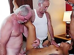 Teen Nikki Kay Gets Gangbanged By Old Men
