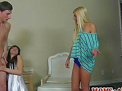Horny stepmom always gets what she wants