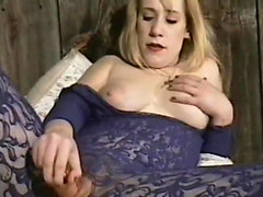 Pale babe gets handled by two studs