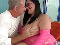Horny milf Lyla Everwett takes a fat cock in her t