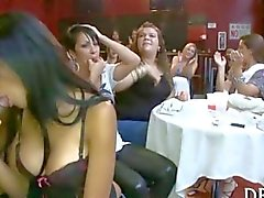Chiseled black stripper peppered with blowjobs