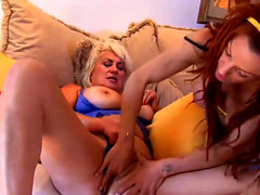 Two Horny Old Bitches Have a Hot Lesbian Adventure
