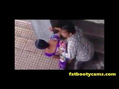 Hidden Cam of Indian Couple Fucking Outside - fatbootycams