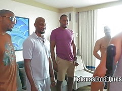 Helenas Hahn Quest - My First BBC Sexparty Creampie Cuckold!