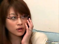 Amazing asian babe is caucht by man part1