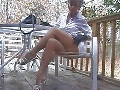 hotlegs-smoking pantyhose masturbation
