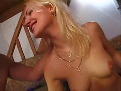 Two blondes enjoy hardcre