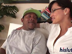 Ravishing Lisa Ann rides on a BBC