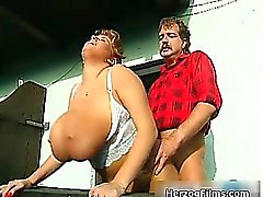 Horny lumber jack is cock sucked part6