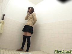 Japanese teen urinates