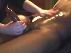 Tantric BBC Oil Massage Milking Cum Shot