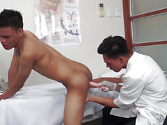 Oriental Twink Medical Fetish Anal Probing