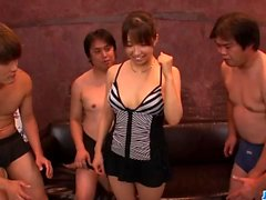 Rough gangbang for each of Bur - More at javhd