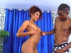 brown sugar honey zoey reyes sucks and screws a huge black cock