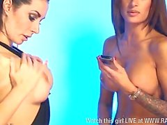 Paige Turnah & Preeti Young together pt3