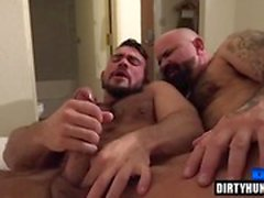 Muscle bear bareback and cumshot
