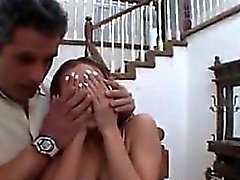 Petite Teen Riding Her Father In Law