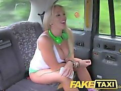 FakeTaxi Taxi man gives a Porn Star anal rough sex